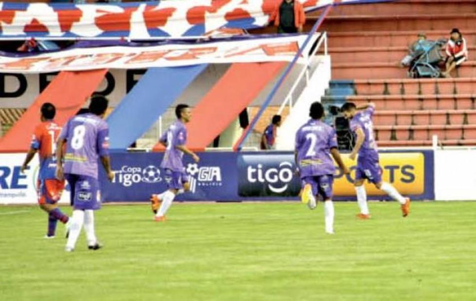 Real Potosí sale de perdedor con triunfo en Sucre