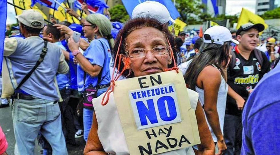 Resultado de imagen para venezuela hambre