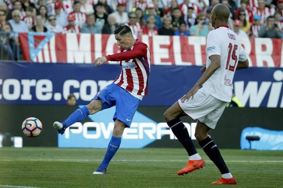 Atlético de Madrid somete 3-1 a Sevilla