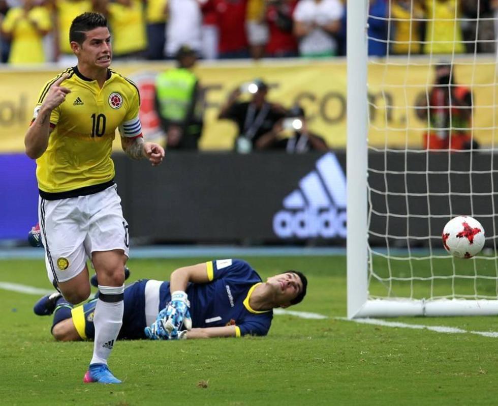Colombia sufre para derrotar a Bolivia en eliminatoria