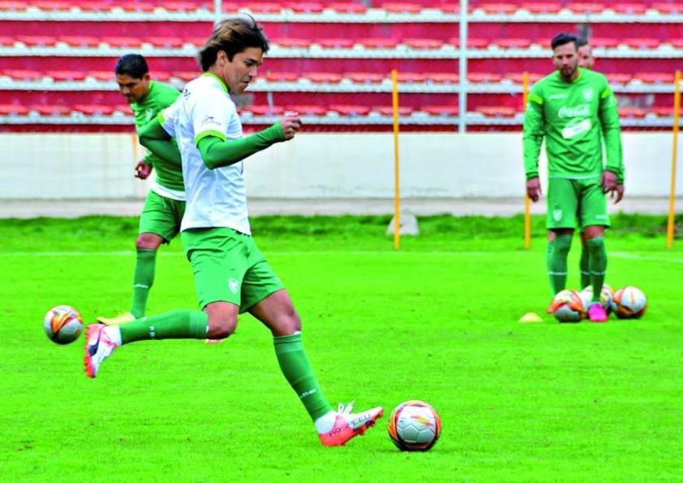 Marcelo Martins es la referencia en la ofensiva.