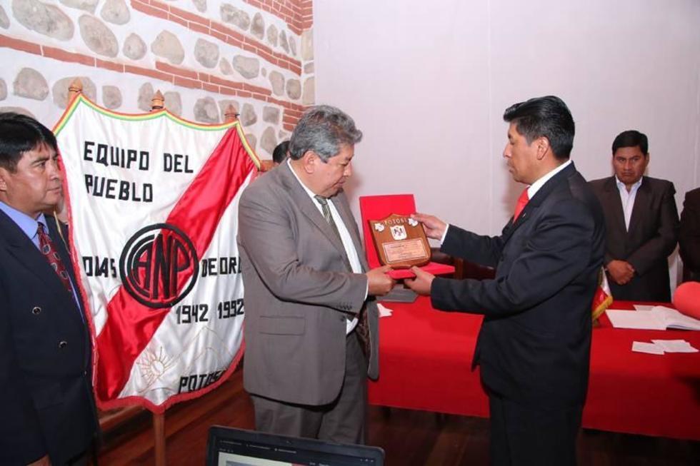Nacional Potosí vive una fiesta por sus 75 años de vida