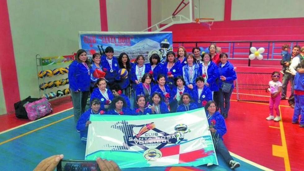 El club deportivo Santa Rosa celebra su 40 aniversario