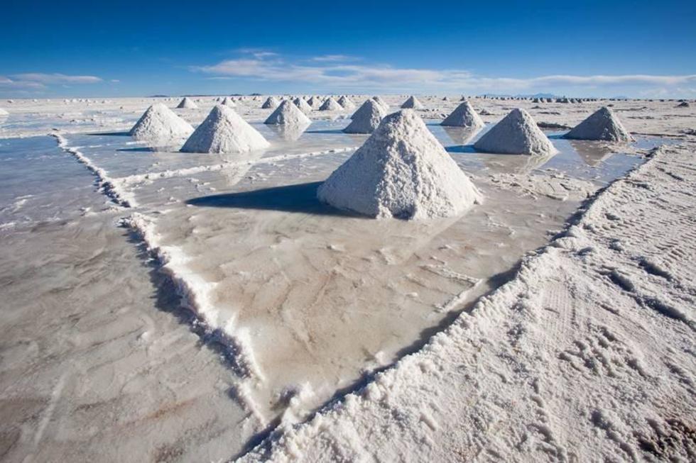 El metal alcalino está en el Salar de Uyuni, en el Departamento de Potosí.
