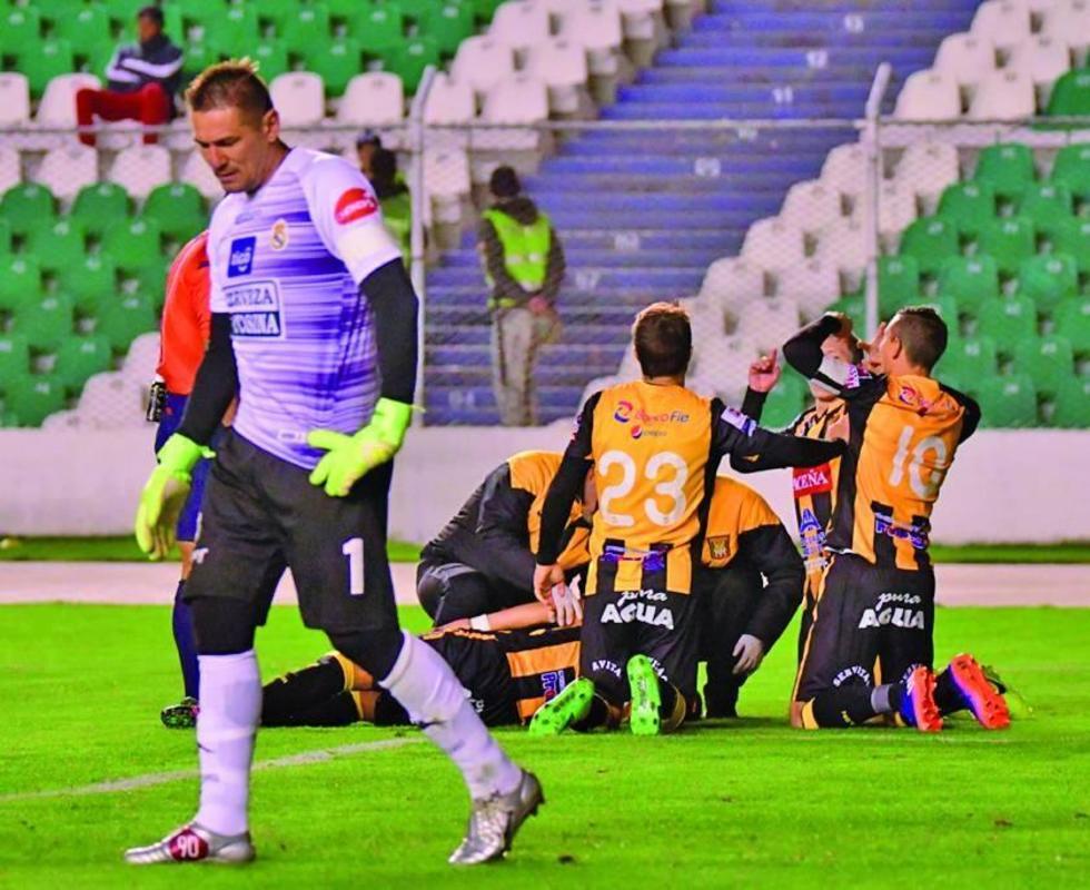 The Strongest golea a Real Potosí en su escenario