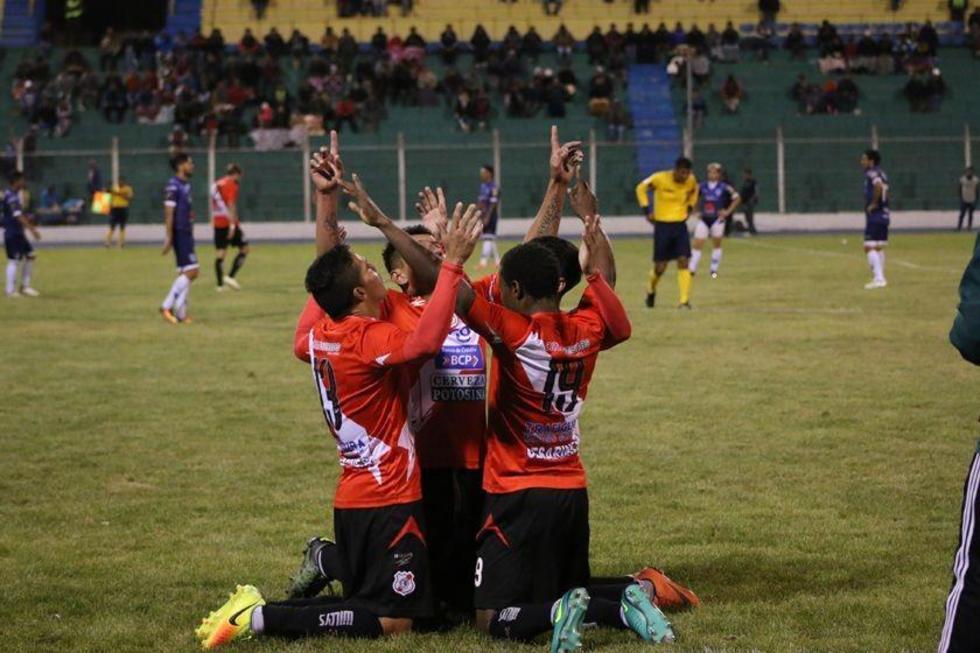 Nacional Potosí golea y sube al sexto lugar
