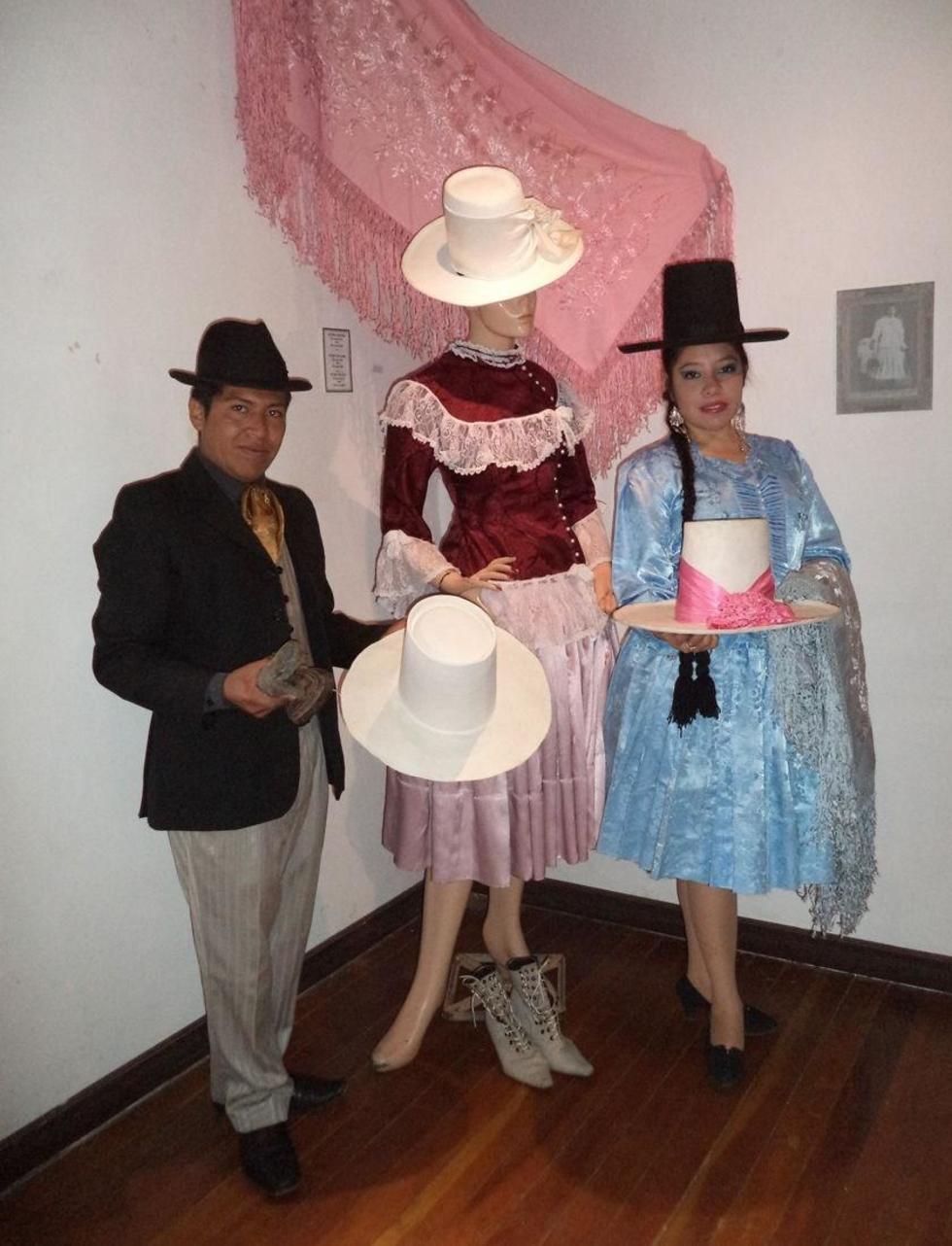 Explicaron la elaboración del sombrero del personaje.