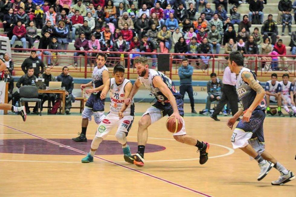 El partido se disputó en el Polideportivo Garcilaso.