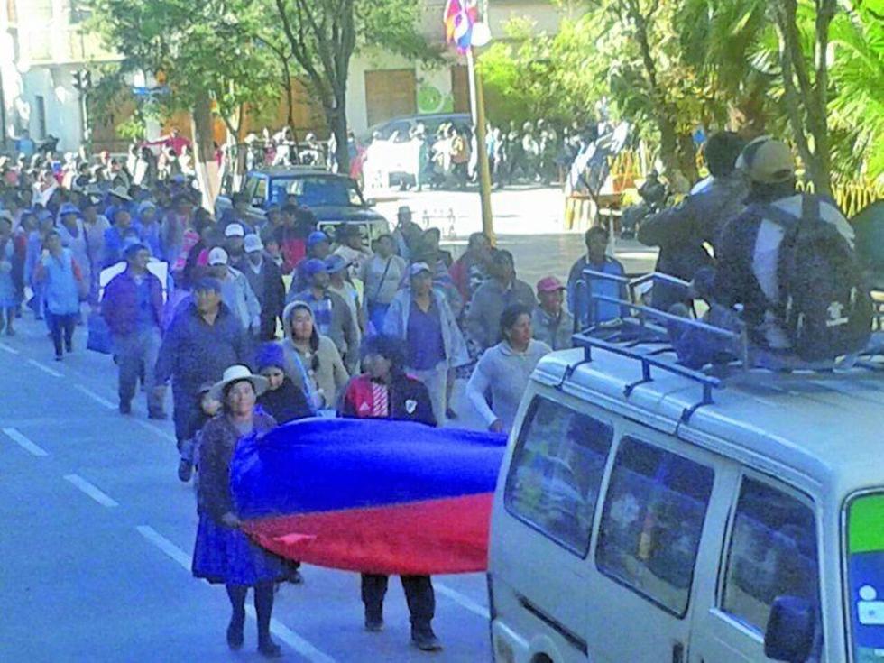 Las movilizaciones comenzaron el viernes 2 de junio, con una marcha de protesta.
