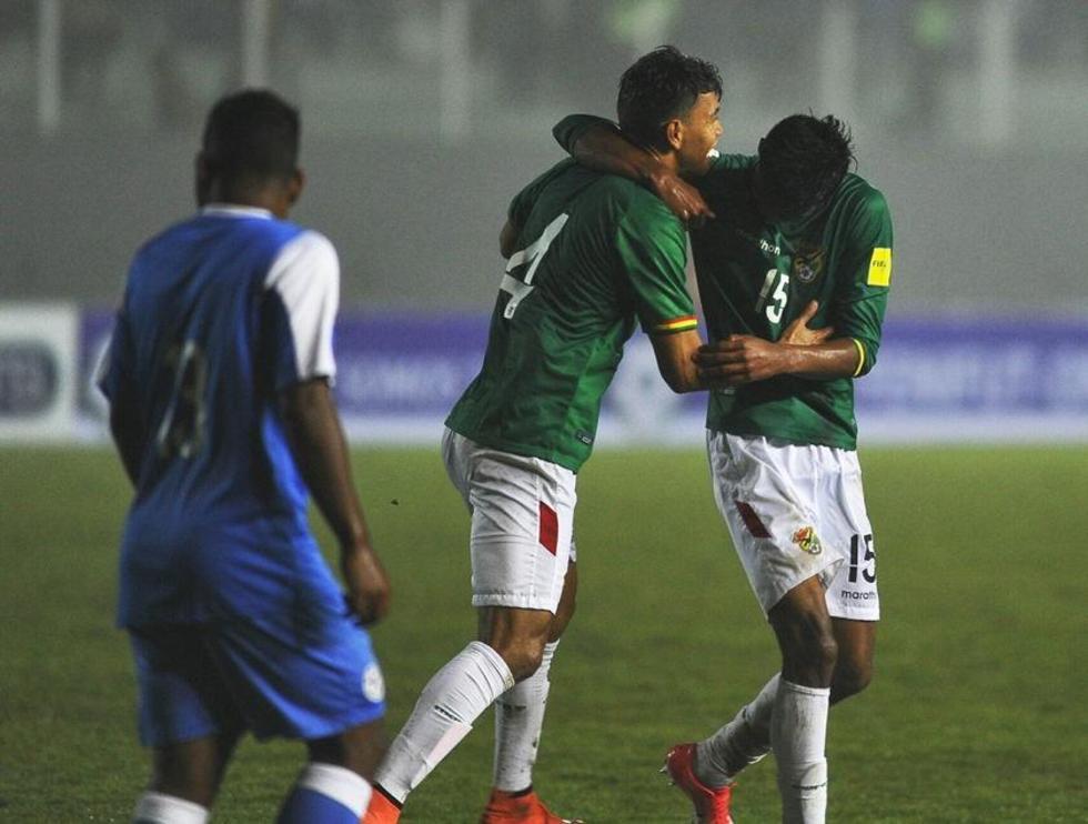 Bolivia remonta el marcador y gana a una fuerte Nicaragua