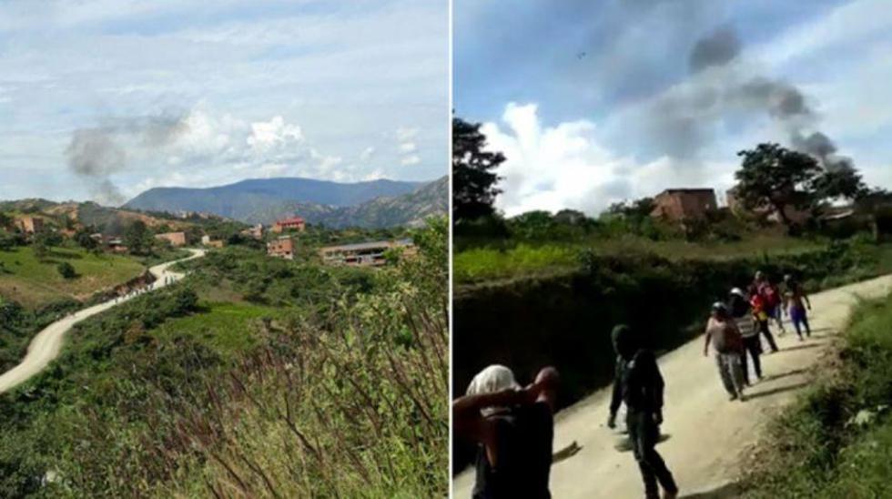 Los enfrentamientos se registraron cerca a la población de Arapata.