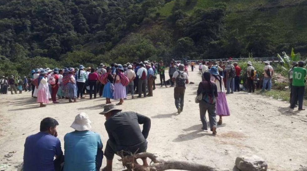 Cocarico sale de los Yungas en helicóptero tras incidentes