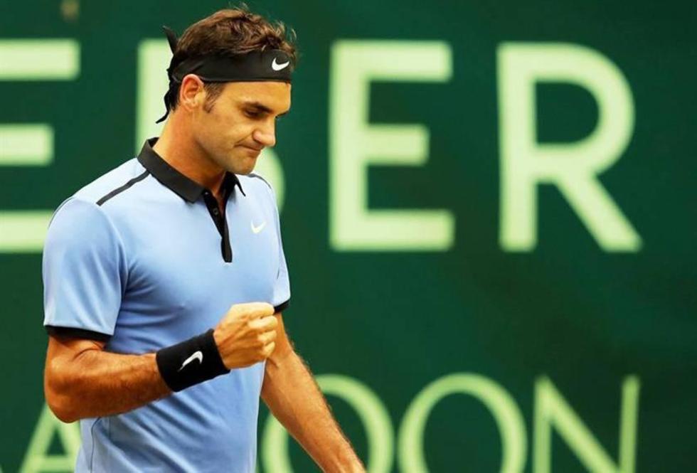 Federer buscará su noveno título en Halle