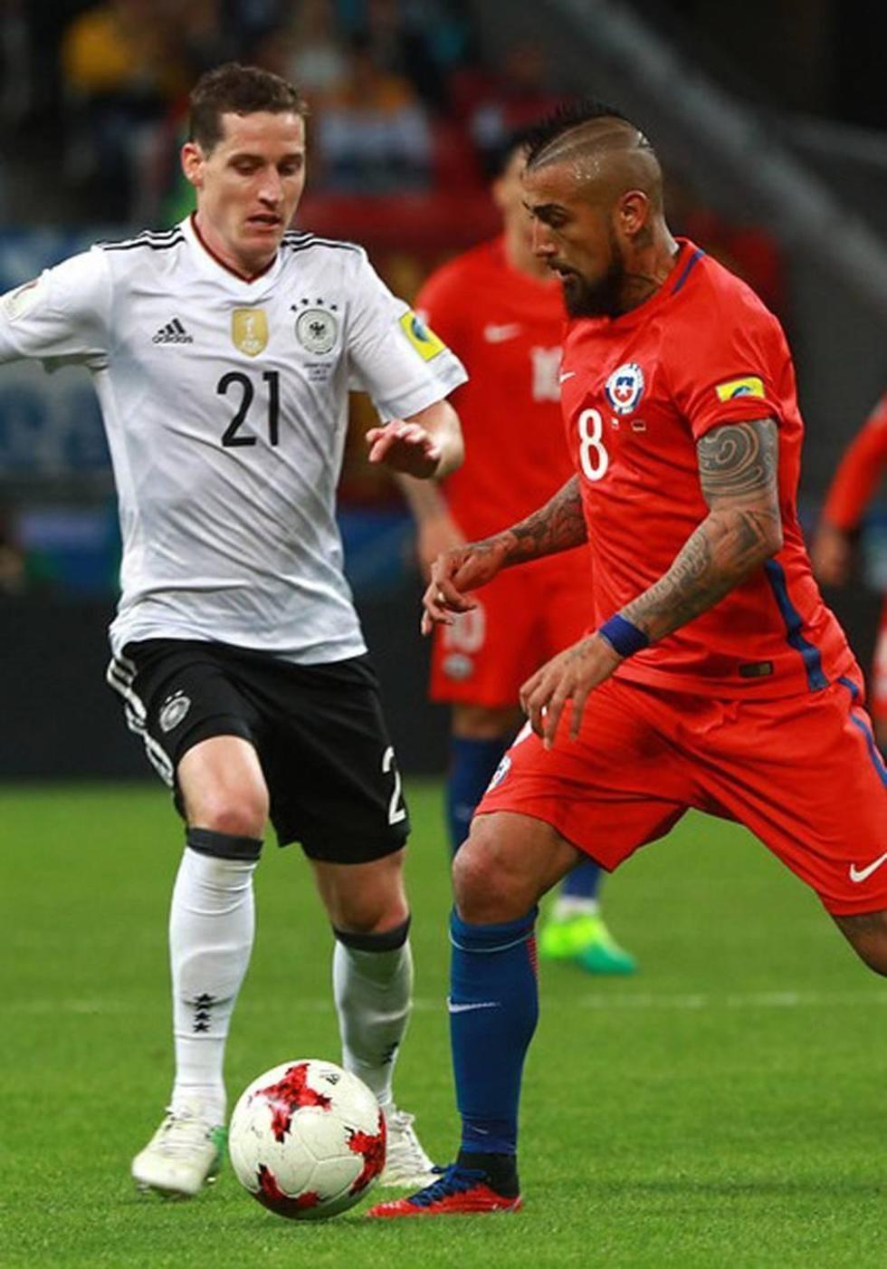 Chile quiere ganar a Alemania en la final de Copa Confederaciones