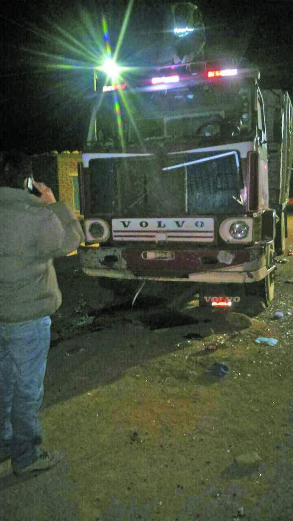 Este es el vehículo Volvo.