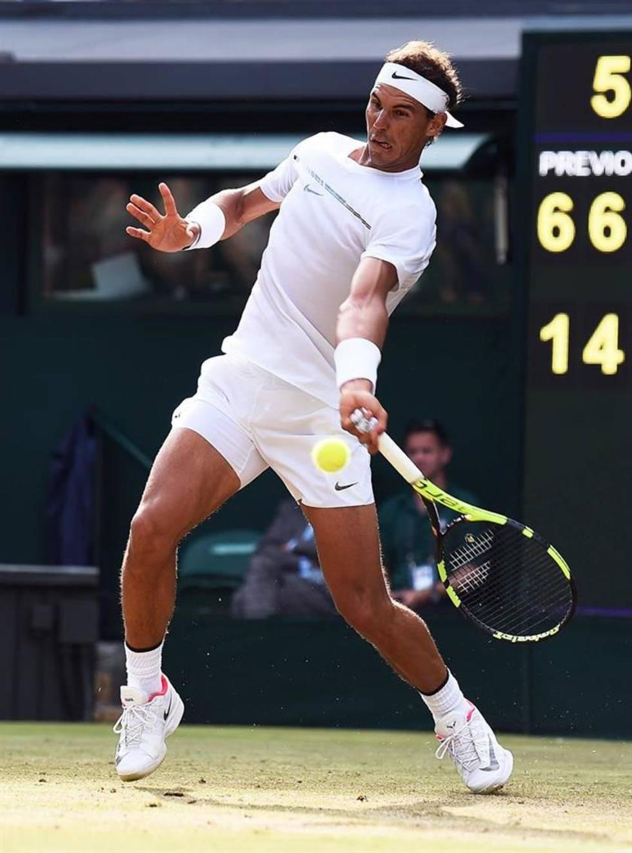 Nadal gana y se instala en la cuarta ronda