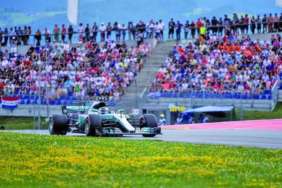 "Valtteri Bottas logra la ""pole"" en el Gran Premio de Austria"