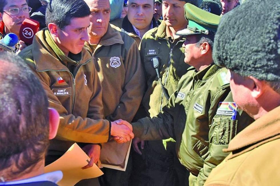 Carabineros de Chile vuelven a su país en 48 horas sanos y salvos