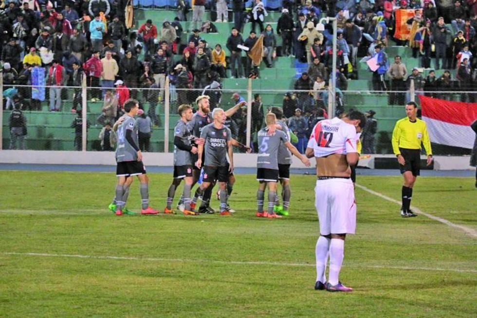 Nacional Potosí cede puntos a Estudiantes de La Plata