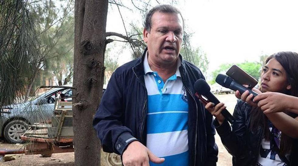 El secretario ejecutivo de Futbolistas Agremiados de Bolivia (Fabol), David Paniagua.