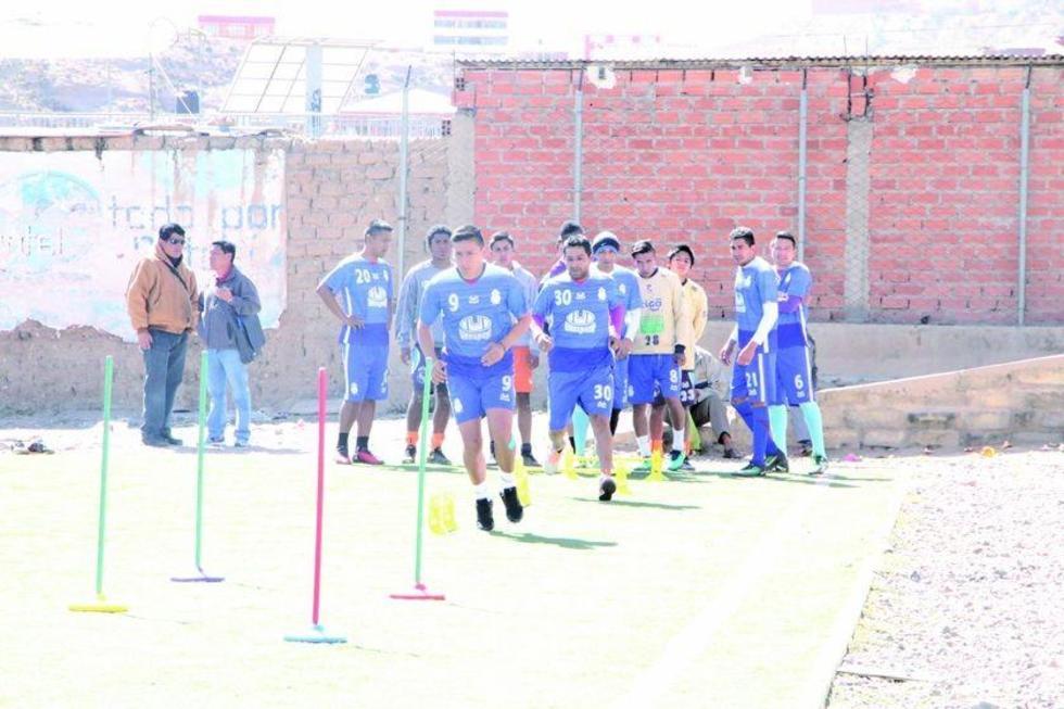 Real Potosí trabajará enfocado en su primer duelo del torneo Clausura