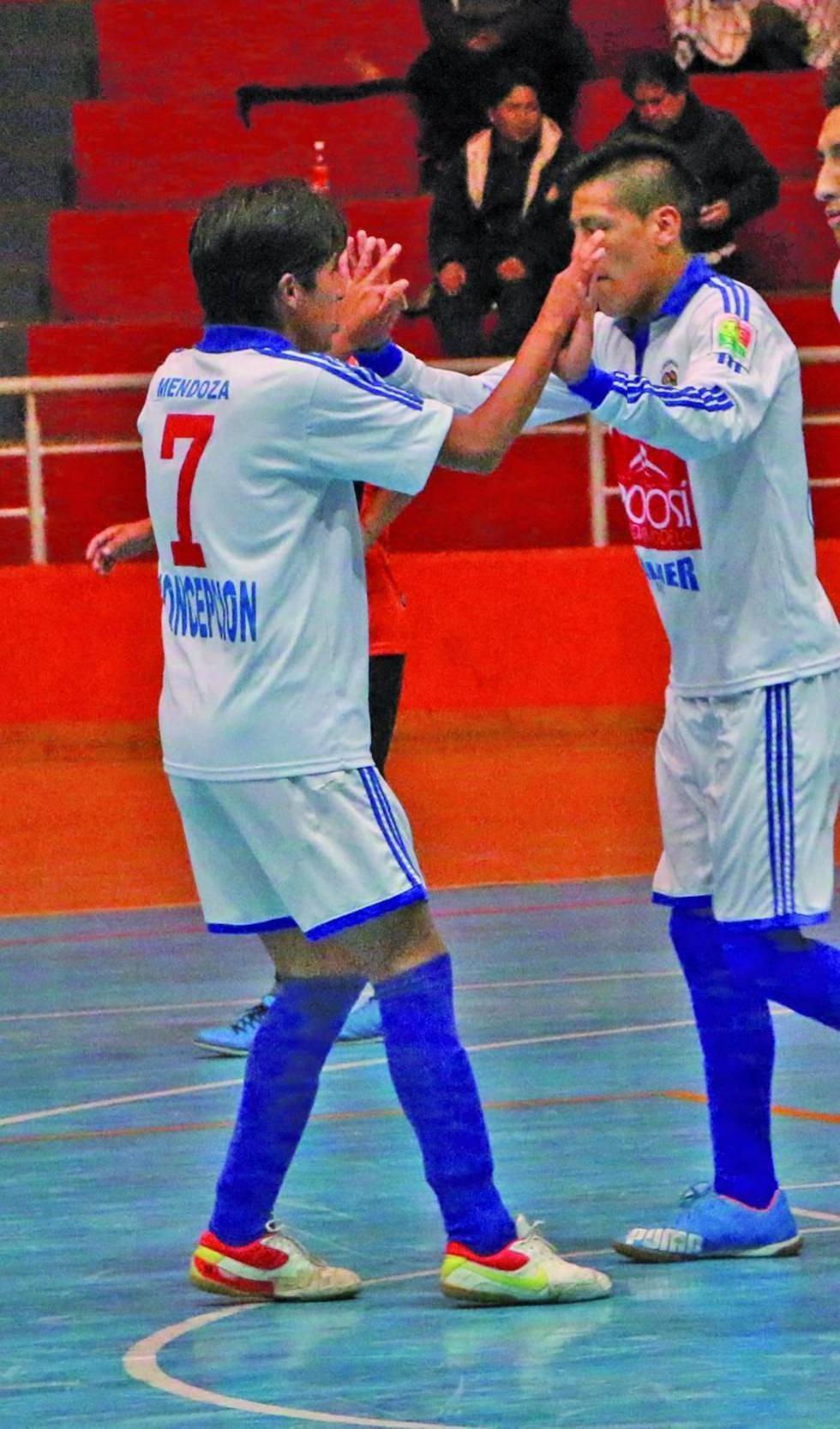 Concepción pretende consolidar una victoria  en la Liga de Futsal