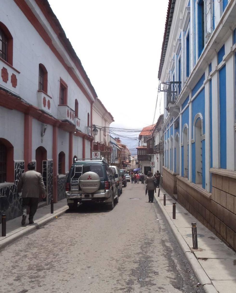 Un sector de la calle Junín es patrimonio histórico.