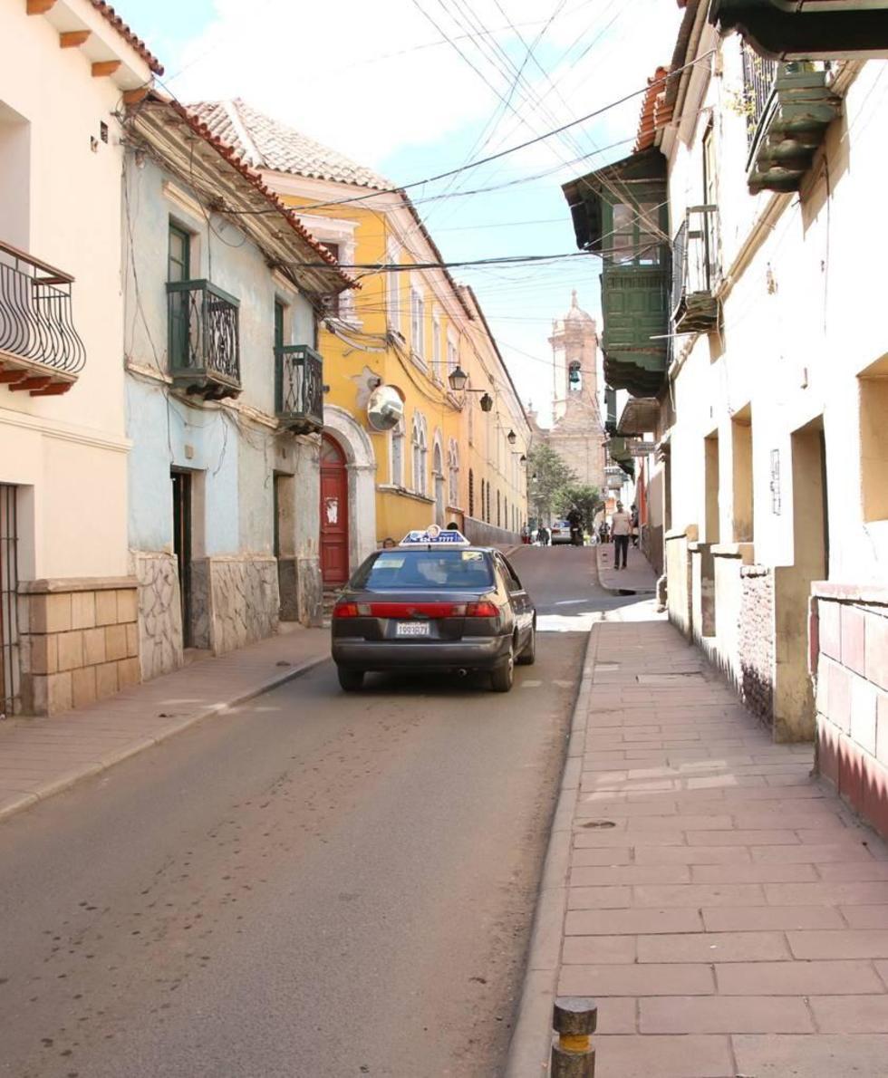 Las fachadas de la calle Tarija serán conservadas.