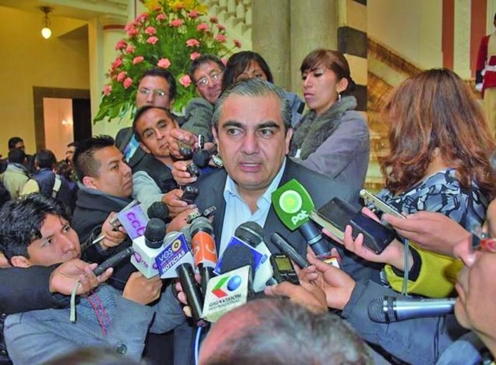 El viceministro Hugo Siles.