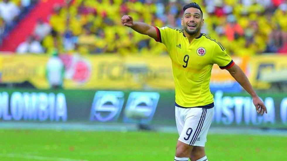 El jugador Radamel Falcao García.