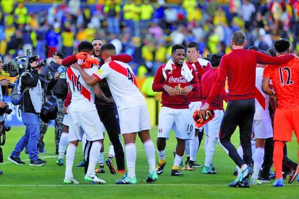 Perú entra en zona de clasificación para el Mundial
