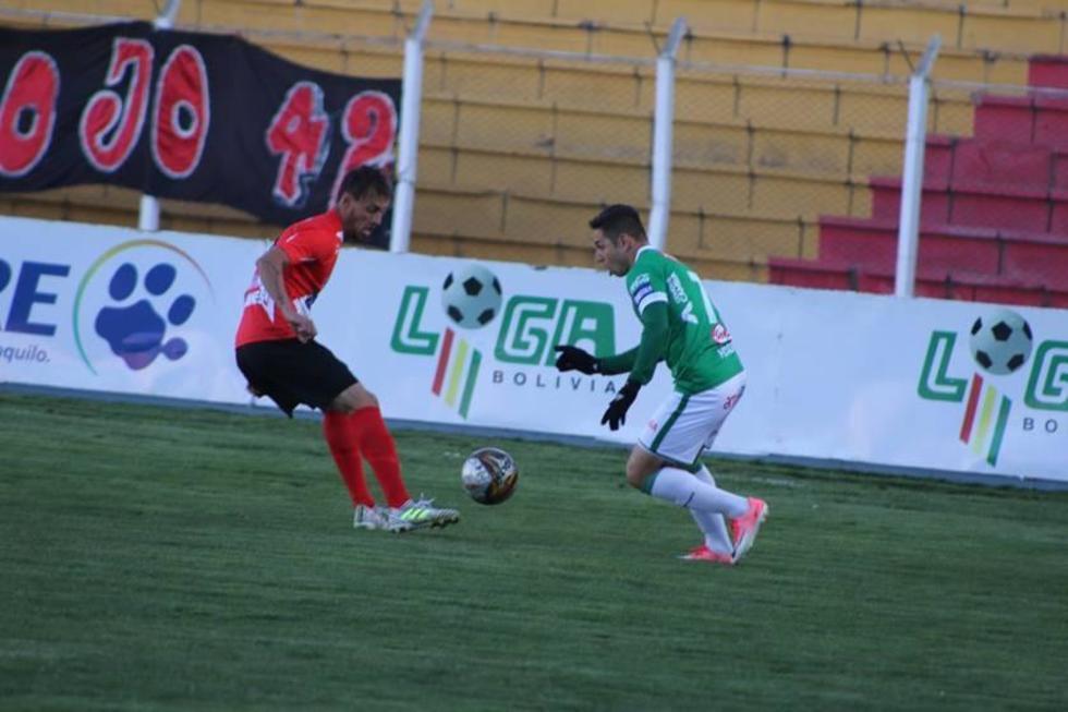 Nacional Potosí sigue en el fondo con empate ante Oriente Petrolero