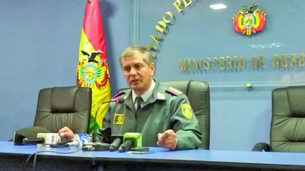 Ramiro Mojica es el director Territorial Militar del Ministerio de Defensa.