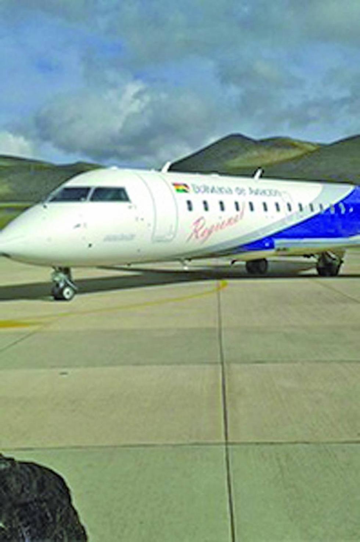 Gobernación prepara la expropiación de tierras para ampliar aeropuerto