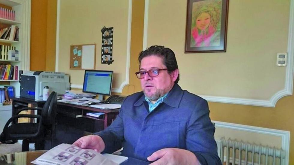 El vicepresidente del Órgano Electoral, José Luis Exceni.