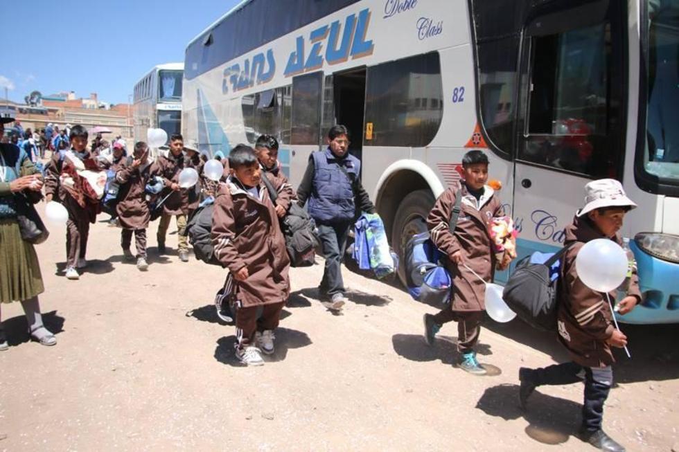 Los juegos deportivos nacionales inician hoy en Potosí