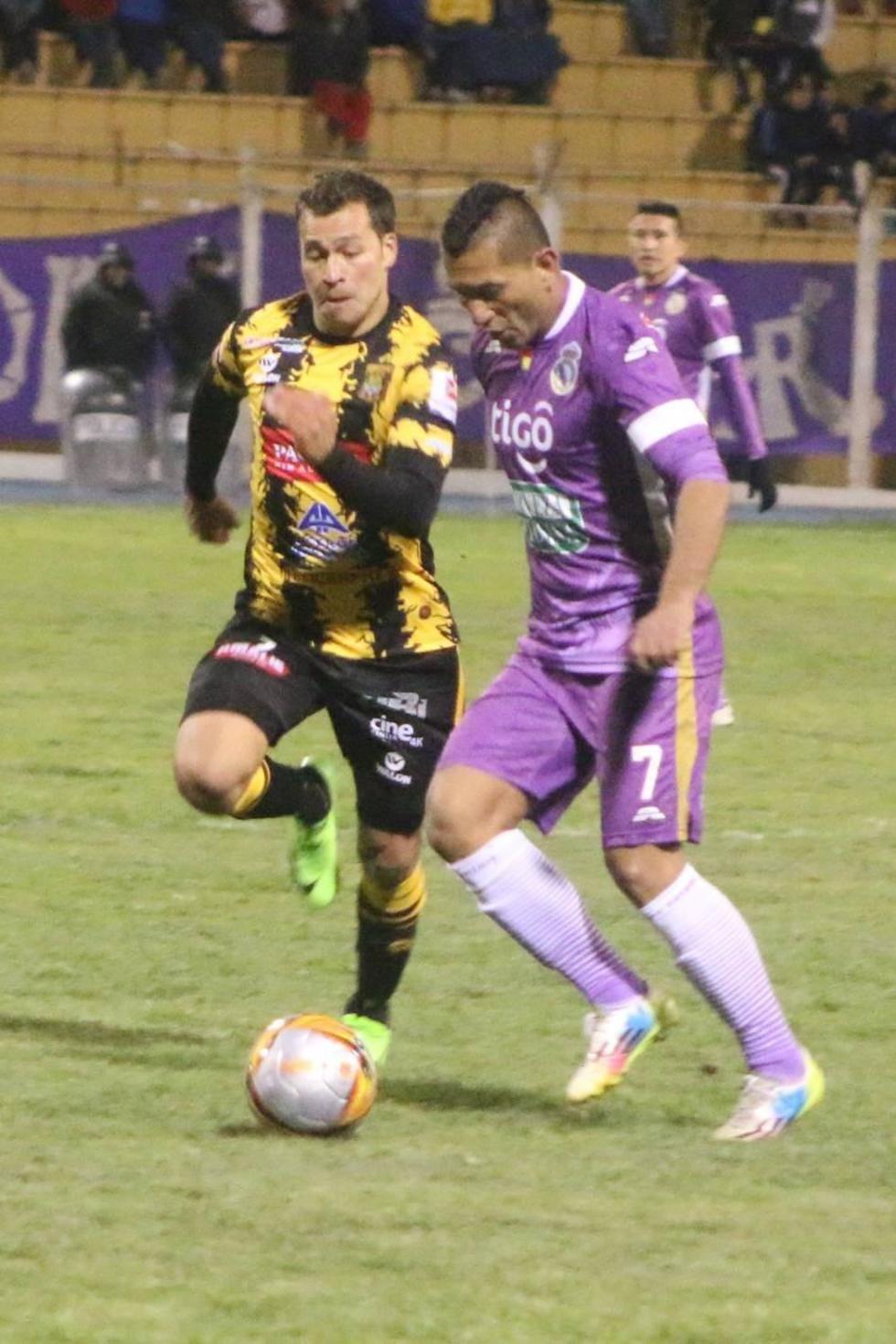 Real Potosí ayer dejó escapar en casa los tres puntos ante el Tigre