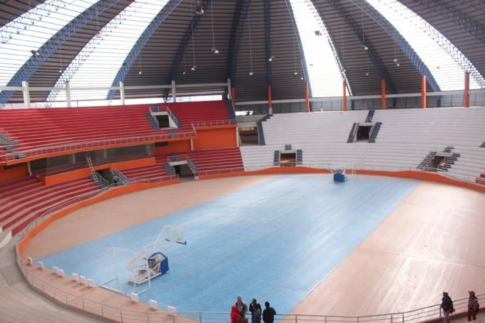 El coliseo potosino será modificado para la Liga Sudamericana de Baloncesto.
