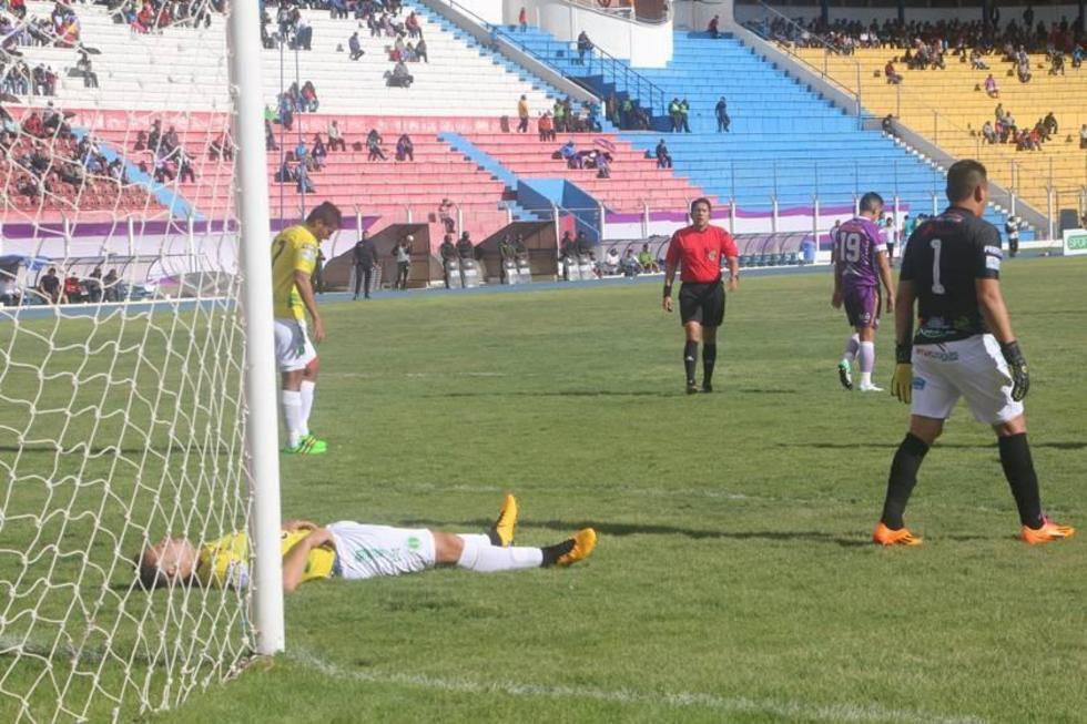 La desazón de los yacuibeños tras el gol de Real .