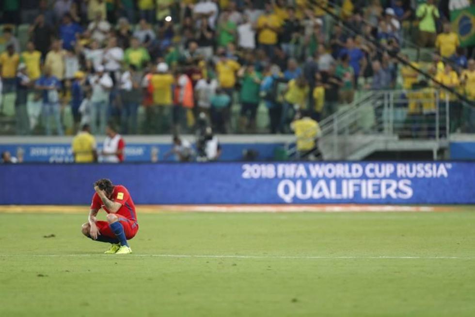Chile queda fuera de la copa del mundo 2018