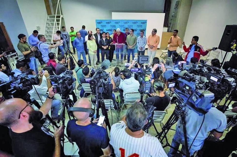 La Mesa de la Unidad Democrática (MUD) exigió el lunes 16 que se audite todo el proceso.