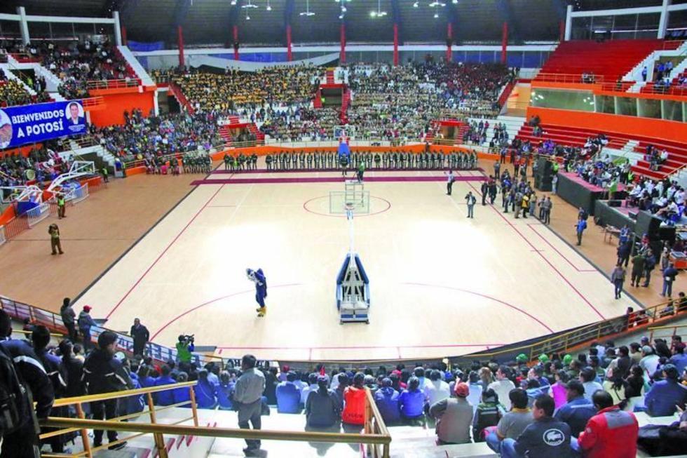 Potosí tiene piso flotante para jugar la Sudamericana de básquet