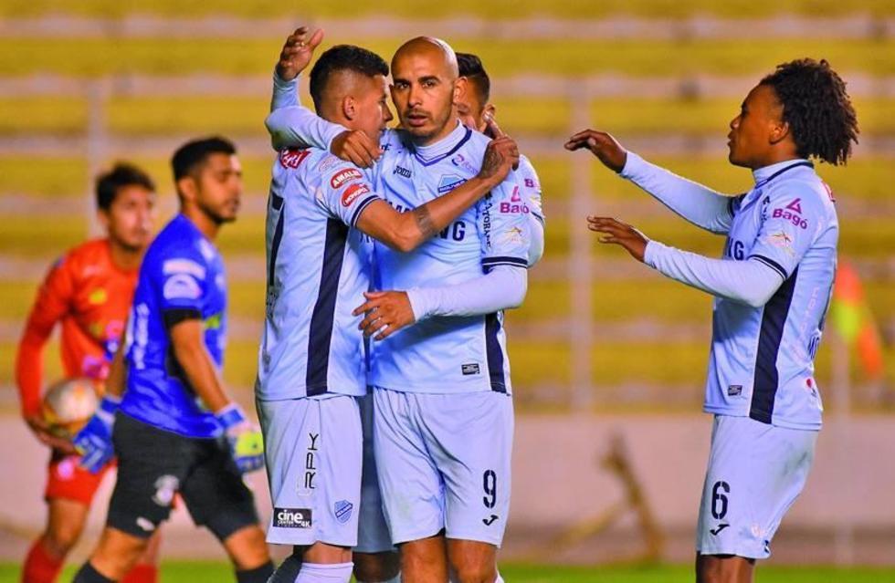 Bolívar se consolida como líder del torneo Apertura