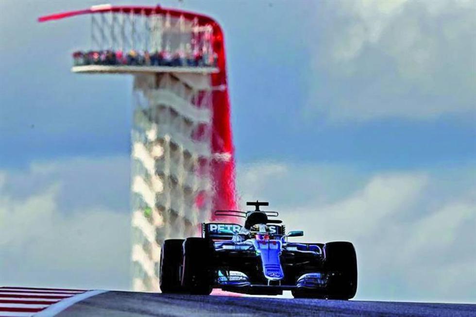 """Hamilton logra la """"pole"""" en el GP de EE.UU."""