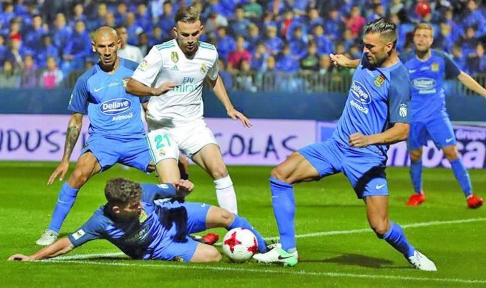 Real gana a Fuenlabrada en la ida de los dieciseisavos de final de la Copa del Rey