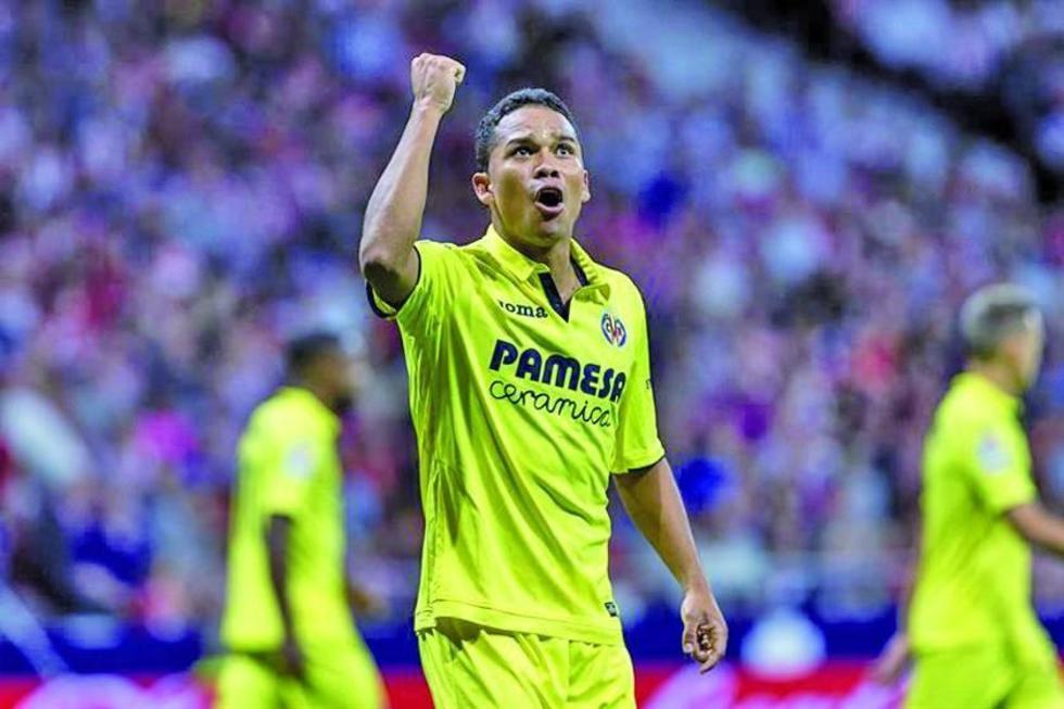 Carlos Bacca le da el empate a Villarreal ante Atlético de Madrid