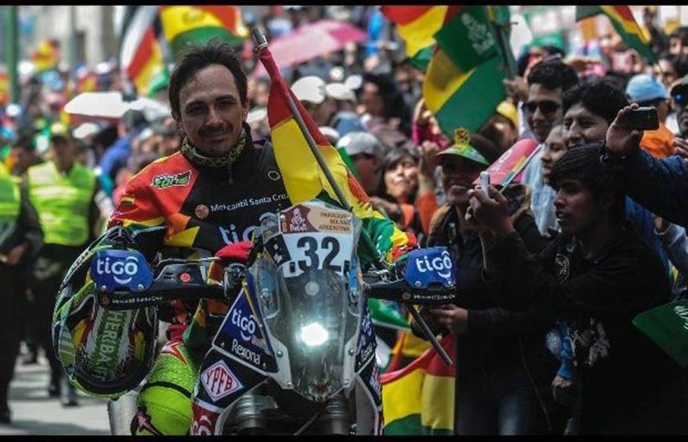 """El """"Chavo"""" Salvatierra está en la élite del Dakar"""