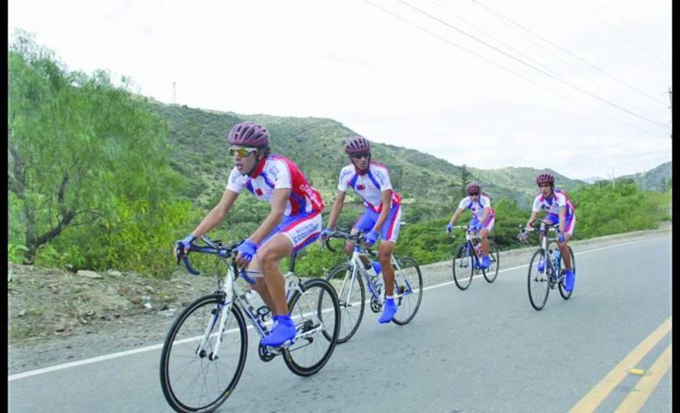 Vuelta Internacional de Ciclismo pasa por el Departamento de Potosí