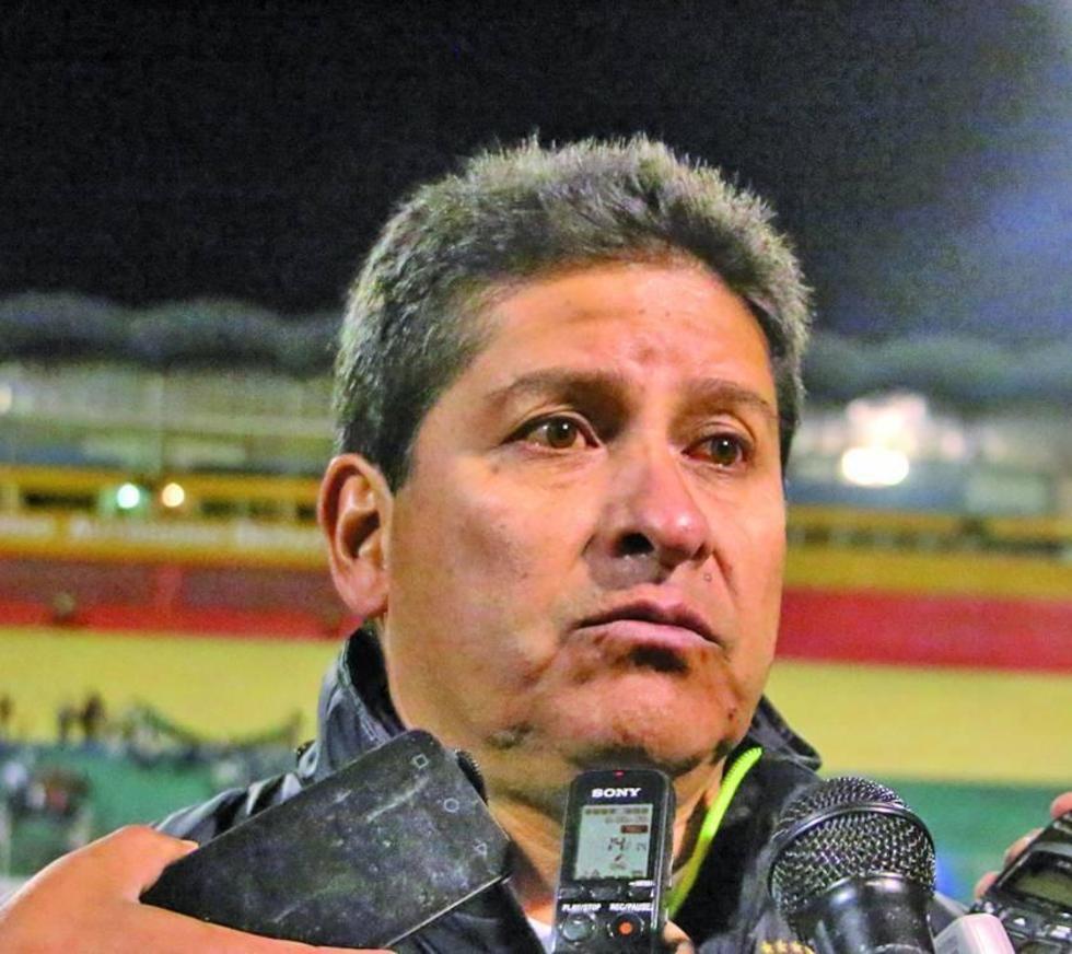 El cochabambino Eduardo Villegas.