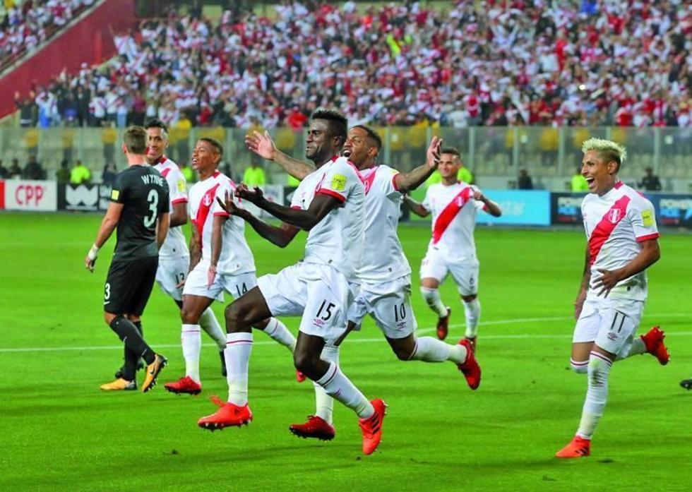 Perú gana y tiene su plaza para el Mundial Rusia 2018